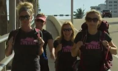 Group of women train to climb Mt Everest to bring awareness to human trafficking