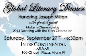 Alfalit International, Inc.'s annual Global Literacy Dinner