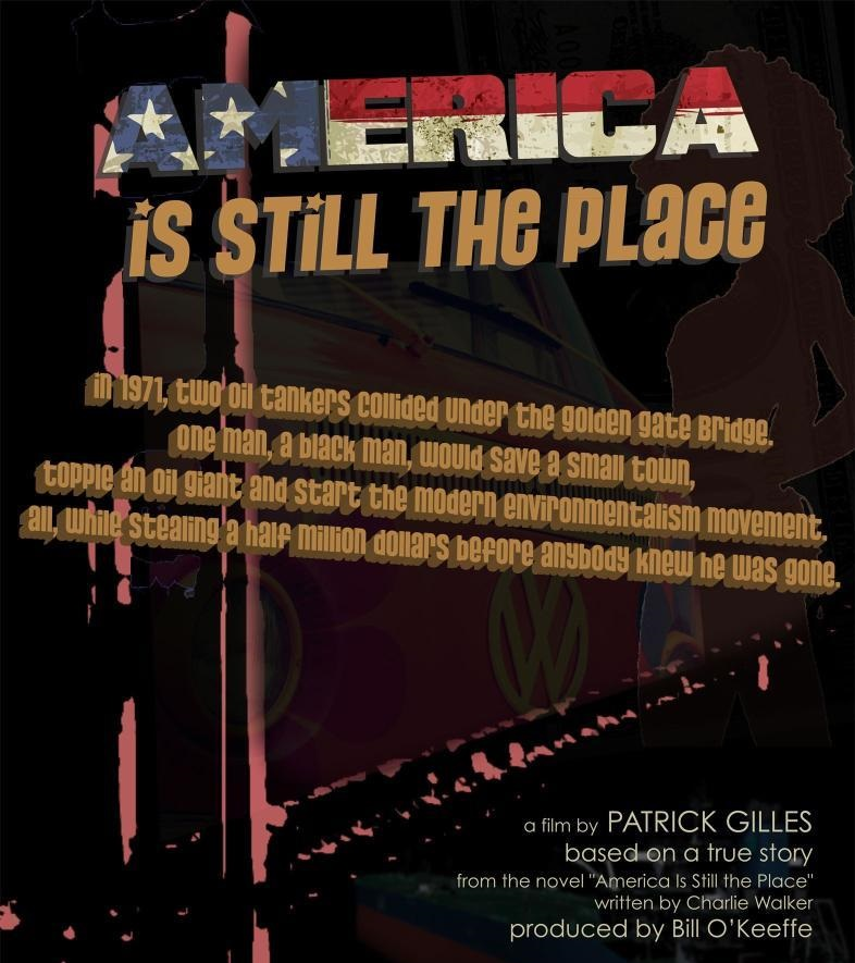 AMERICA IS STILL THE PLACE, US poster, 2014.
