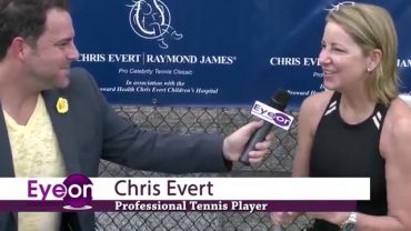 Chris Evert Raymond James Pro-Celebrity Tennis Classic