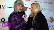 Max Tucci with Victoria Fratz at Sundance 2016