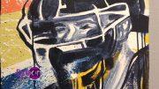 Ruben Ubiera Creates Miami Marlins Mural In Pembroke Pines