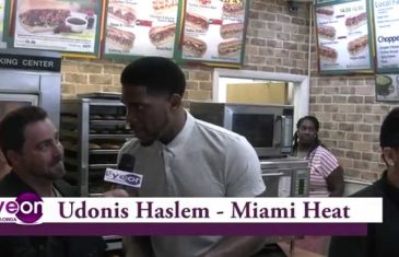 Udonis Haslem Opens Subway Restaurant