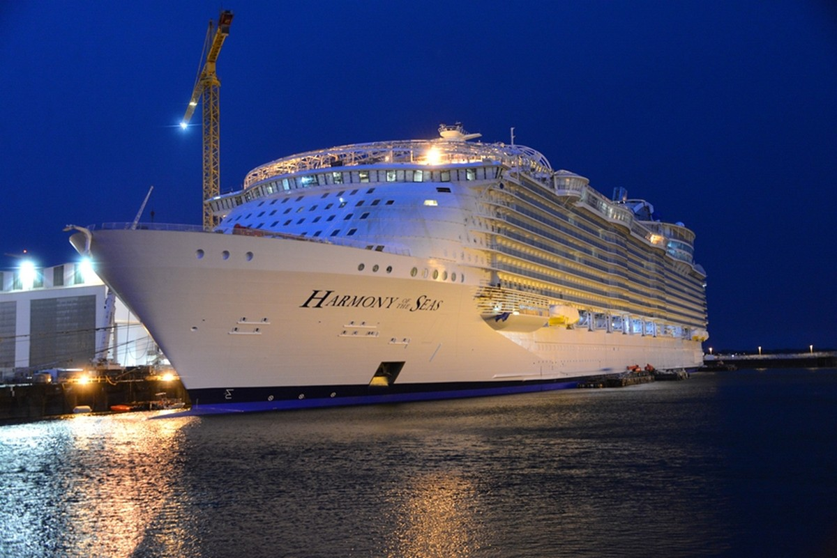 Largest Cruise Ship Ever RCCL Harmony Of The Seas  Eye On South Florida