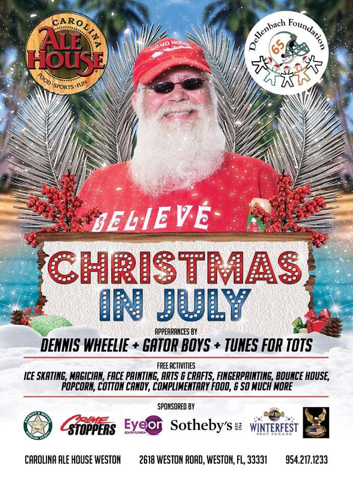 Christmas In July Benefits Dellenbach Foundation