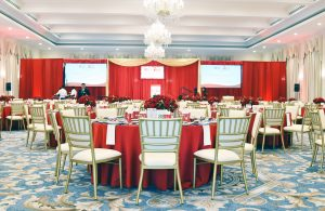 dining room go Red Event