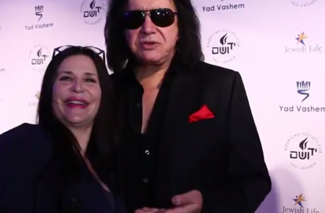 GALA FUNDRAISER HONORS KISS CO-FOUNDER GENE SIMMONS AND HIS MOTHER, HOLOCAUST SURVIVOR FLORA KLEIN