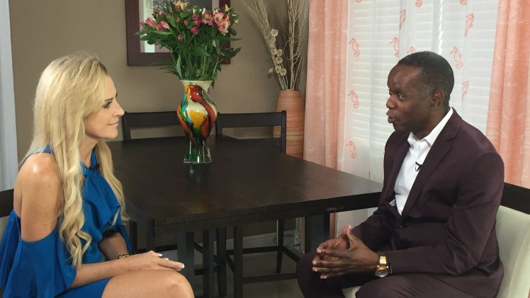 Karyn Turk talks politics with Dr Chris Metzler